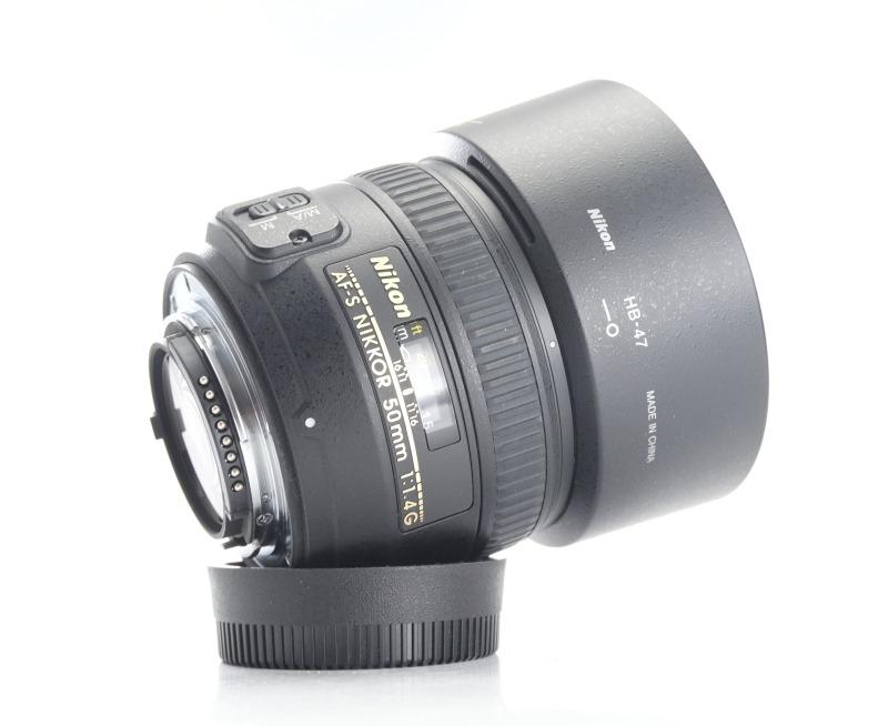 ikon 50 mm f/1,4 AF-S NIKKOR G
