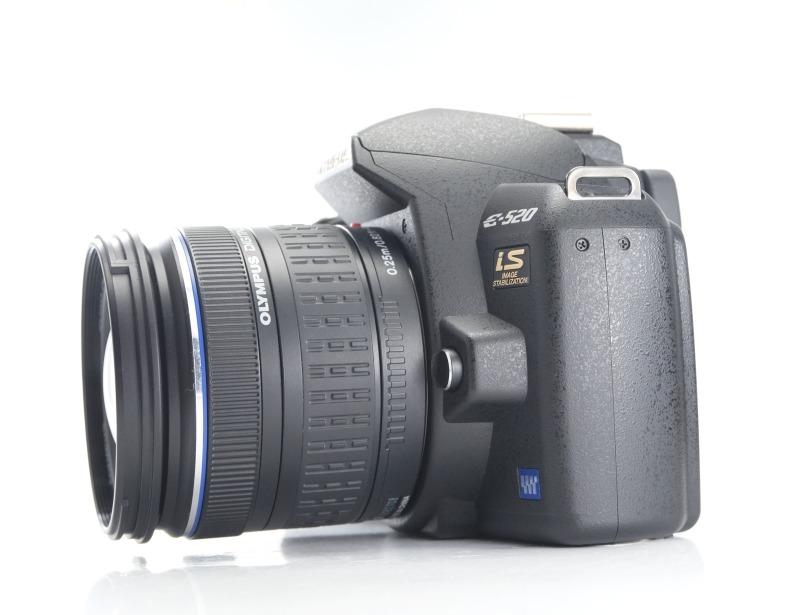 Olympus E-520 + 14-42mm TOP