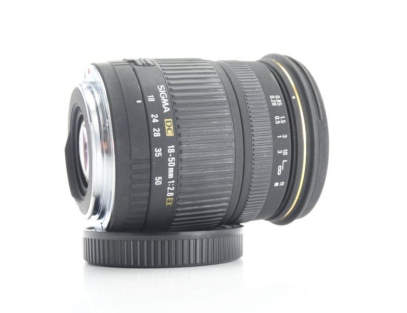SIGMA 18-50 mm f/2,8 EX DC pro Canon