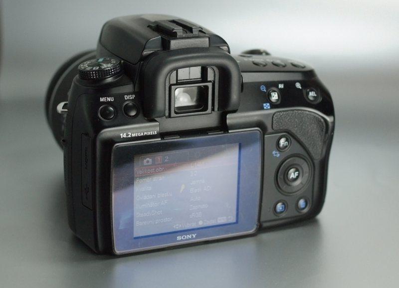 Sony A450 + Sony 18-55mm SAM