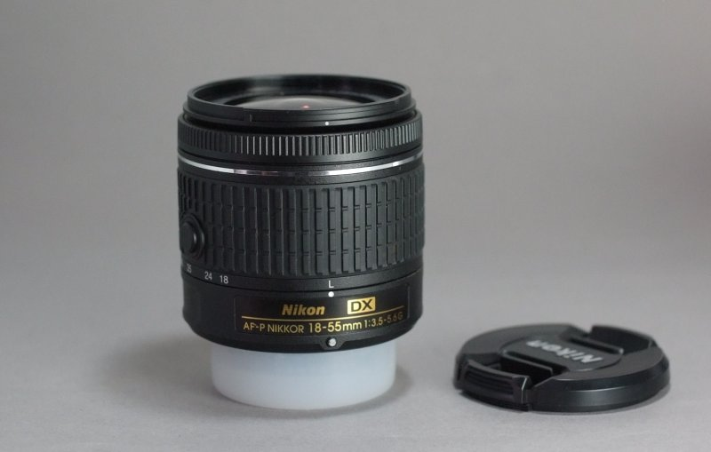 NIKON 18-55 mm f/3,5-5,6 G AF-P DX TOP STAV