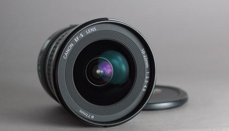 Canon EF-S 10-22mm f/3.5-4.5 USM TOP STAV
