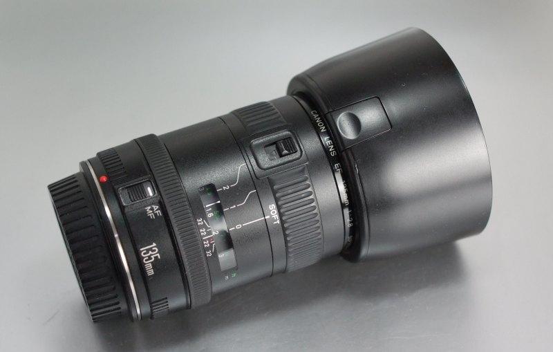 Canon EF 135mm f/2,8 softfocus TOP STAV