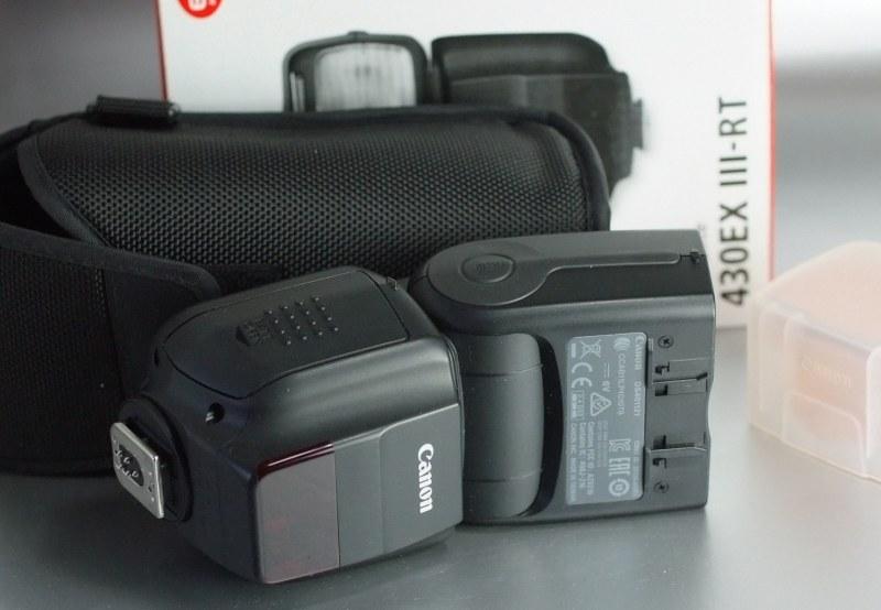 CANON Speedlite 430 EX III-RT záruka 10/2017
