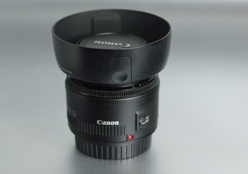 CANON EF 50 mm f/1,8 II + clona