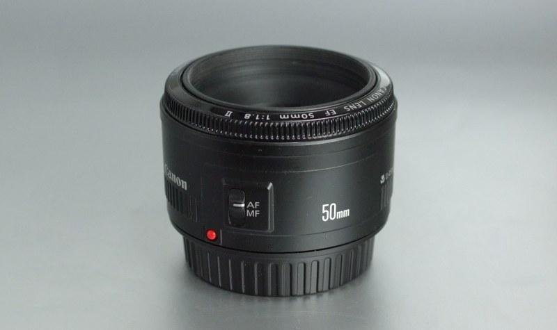 CANON EF 50 mm f/1,8 II