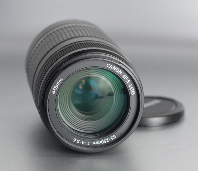 Canon EF-S 55-250mm f/4-5,6 IS SUPER STAV