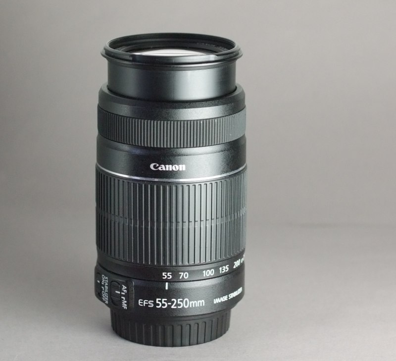 Canon EF-S 55-250mm f/4-5,6 IS II  SUPER  STAV
