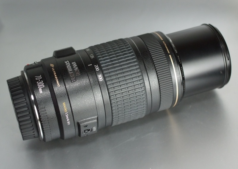Canon EF 70-300mm f/4-5.6 USM IS TOP STAV