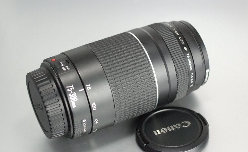 Canon 75-300mm EF f/4-5,6