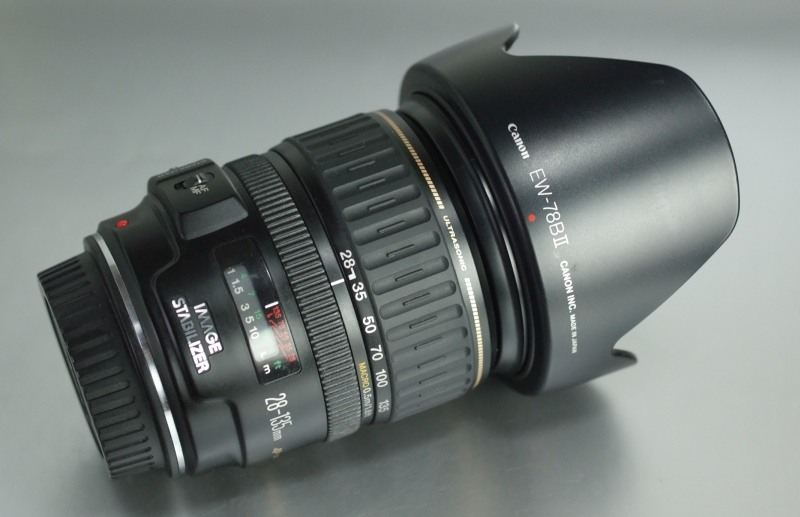 CANON EF 28-135 mm f/3,5-5,6 IS USM SUPER STAV