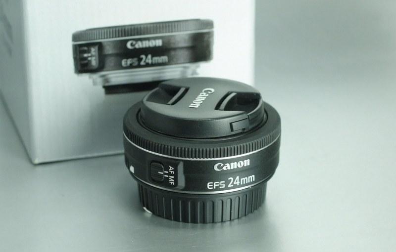 Canon EF-S 24mm f/2.8 STM TOP STAV záruka 3/2019