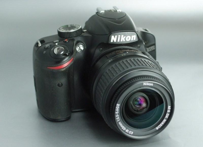 Nikon D3200 + Nikon AFS 18-55mm