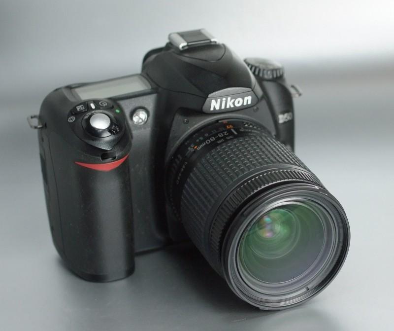 NIKON D50 + Nikon 28-80mm D TOP STAV