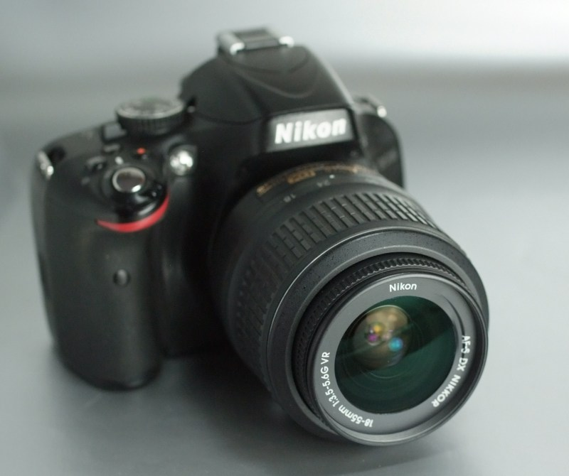 Nikon D5100 + 18-55mm VR