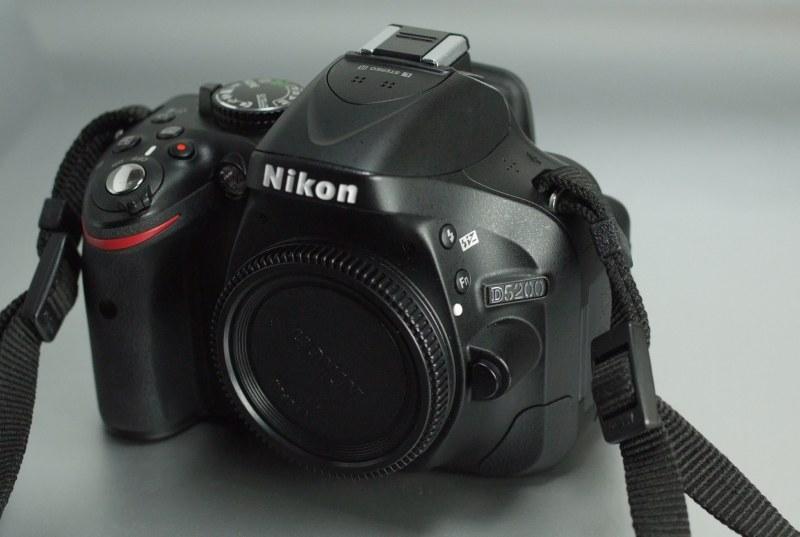 Nikon D5200 TOP STAV