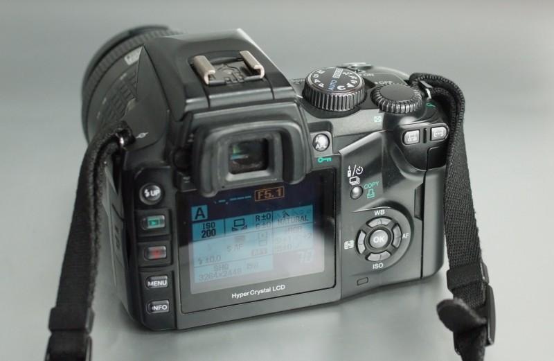 Olympus E-500 + 14-45 mm