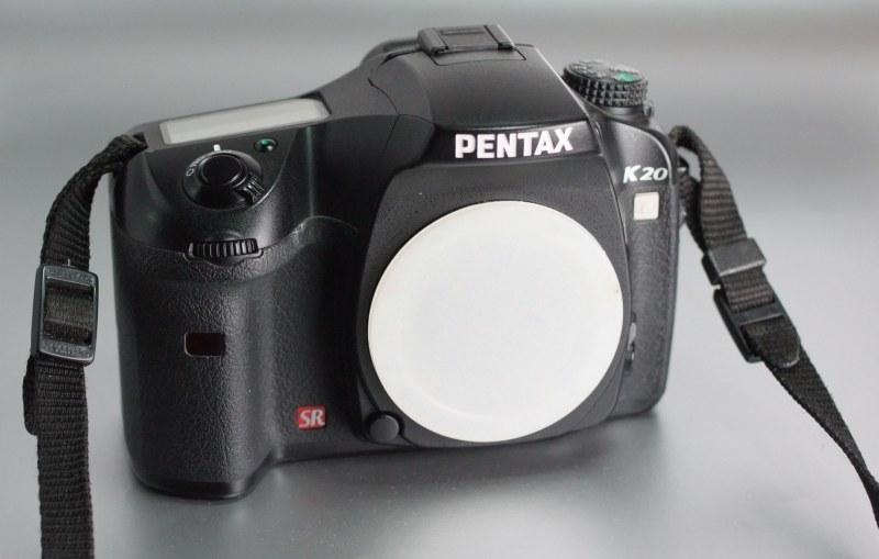 Pentax K20D SUPER STAV