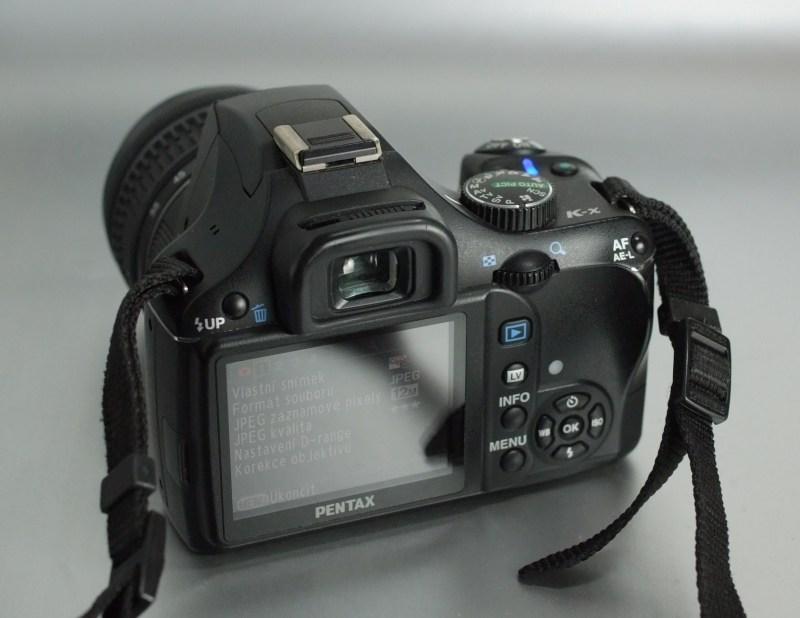 Pentax K-x + Pentax 18-55mm
