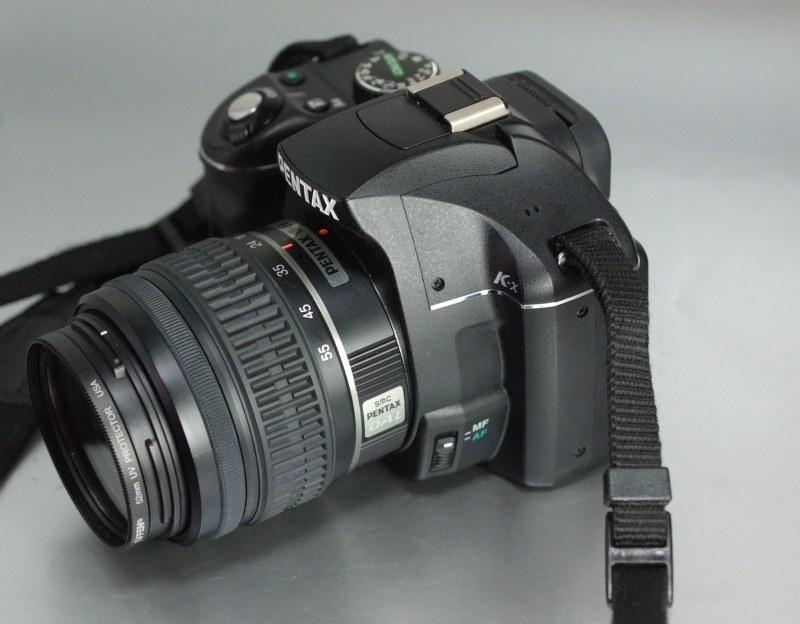 Pentax K-x + Pentax 18-55mm SUPER STAV