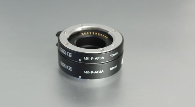 Meike sada mezikroužků 10mm/16mm pro Micro 4/3