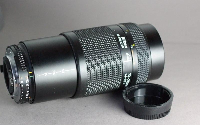 Nikon Nikkor AF 70-210mm D SUPER  STAV