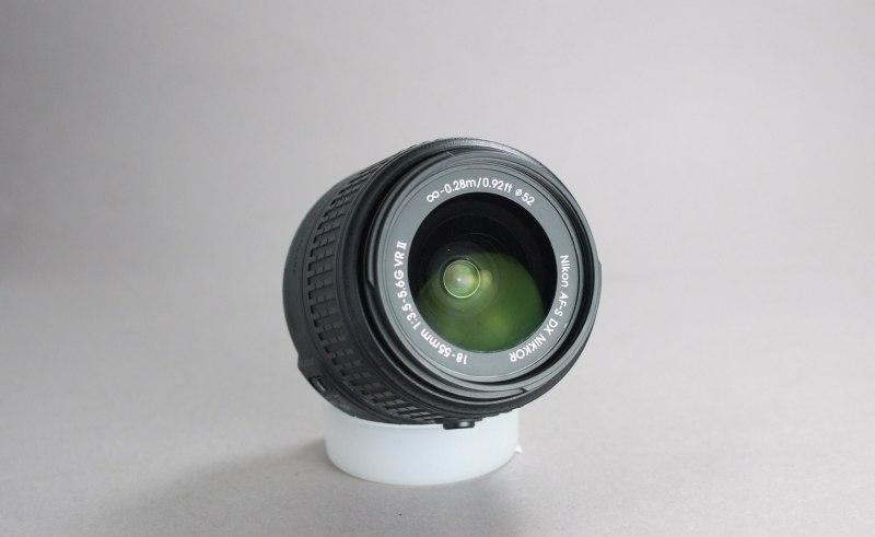 Nikkor 18-55 mm AF-S VR II
