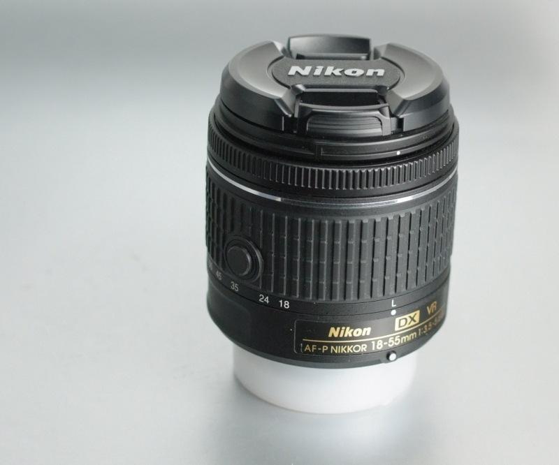 NIKON 18-55mm f/3,5-5,6 G AF-P VR DX TOP STAV