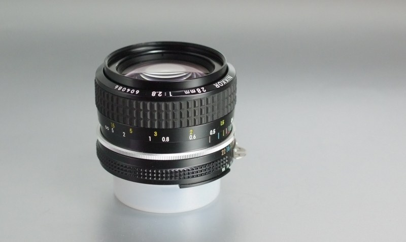NIKON MF 28mm 2.8 AI TOP STAV
