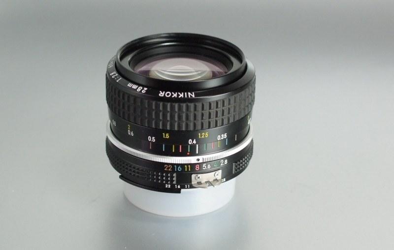 NIKON MF 28mm 2.8 AI TOP STAV