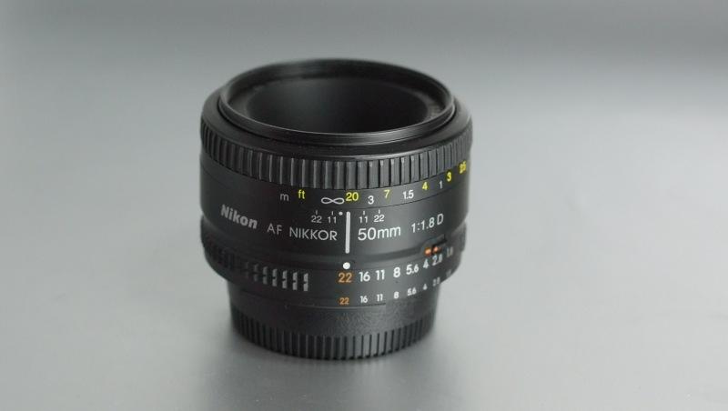 Nikkor 50mm f/1,8  AF D  SUPER STAV