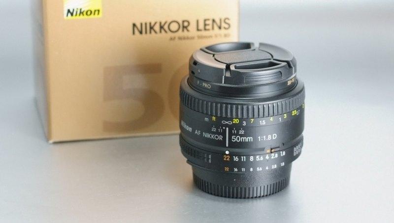 Nikkor 50mm f/1,8  AF D