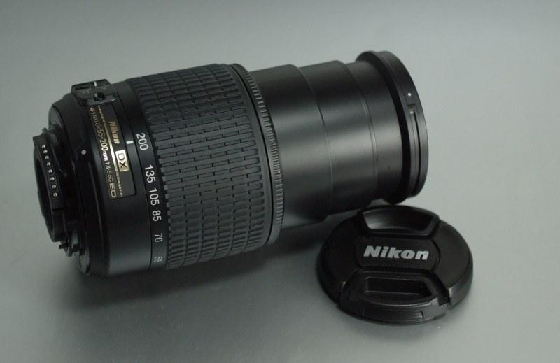 Nikon 55-200mm f/4-5.6G AFS SUPER STAV