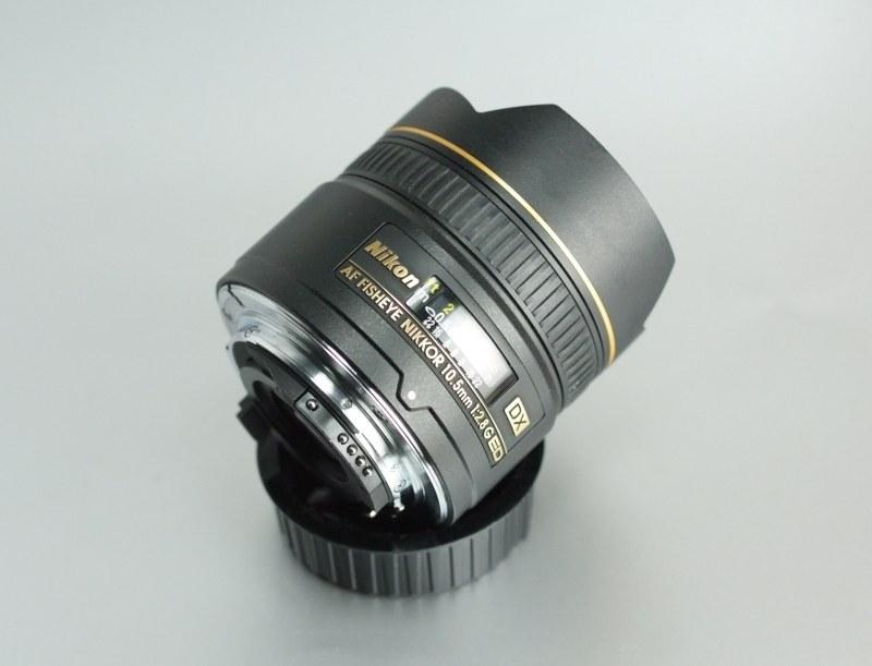 Nikkor 10,5mm f/2.8G AF DX EF-ED TOP STAV