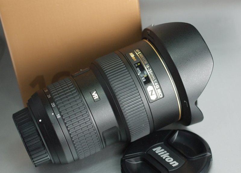 Nikon 16-35mm f/4,0 AF-S G ED VR TOP STAV