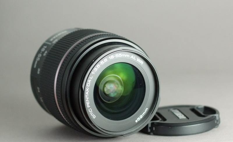 Pentax DA 18-55mm f/3.5-5.6 AL WR  TOP STAV