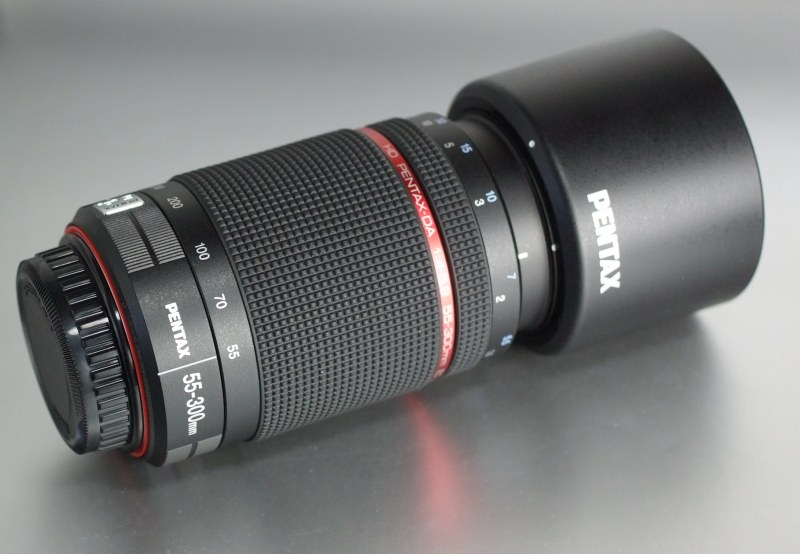 PENTAX 55-300 mm f/4-5,8 HD DA ED WR TOP STAV