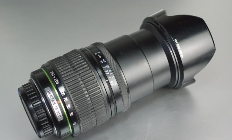 PENTAX 18-250mm F/3.5-6.3 ED AL IF