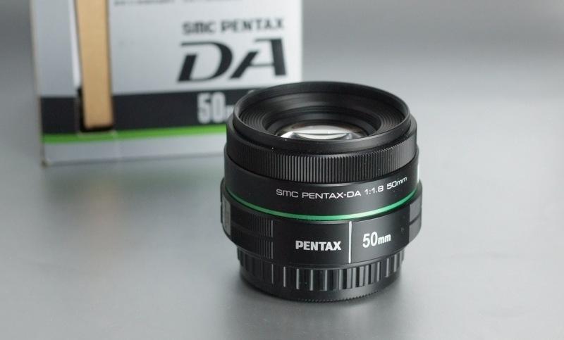PENTAX 50 mm f/1,8 DA záruka 12/2017
