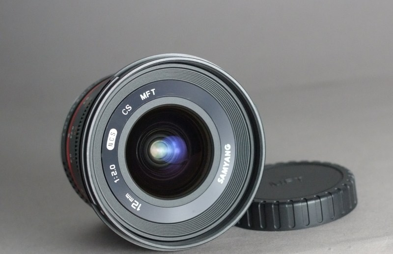 Samyang 12mm f/2 NCS CS pro Olympus/Panasonic MFT