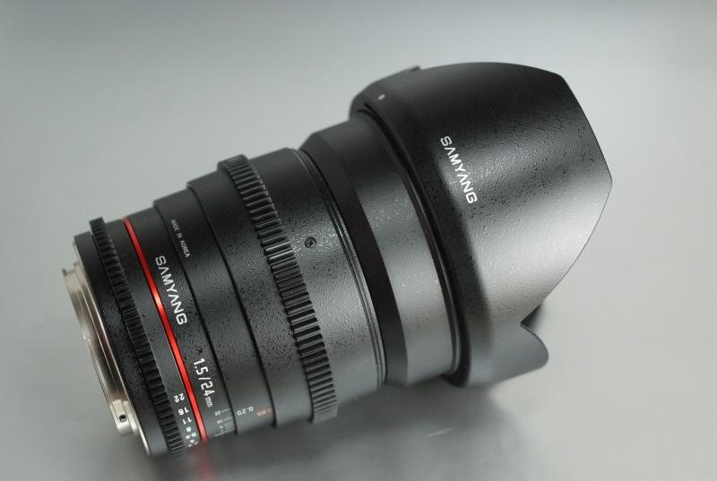 Samyang 24mm f/1,5 VDSLR pro Canon TOP