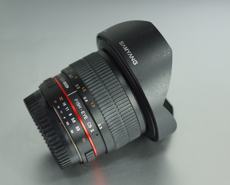SAMYANG 8 mm f/3,5 UMC Fish-eye CS II pro Nikon
