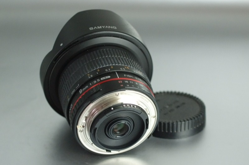 SAMYANG 8 mm f/3,5 UMC Fish-eye CS II pro Nikon