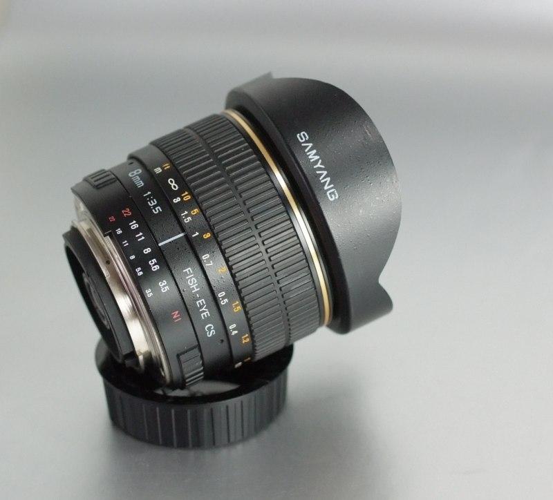 Samyang 8mm f/3,5 pro Nikon