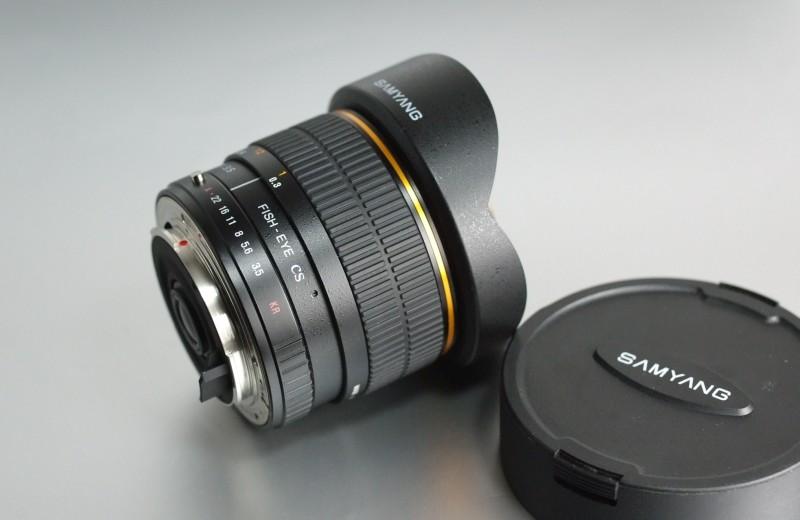 Samyang 8mm f/3,5 pro Pentax