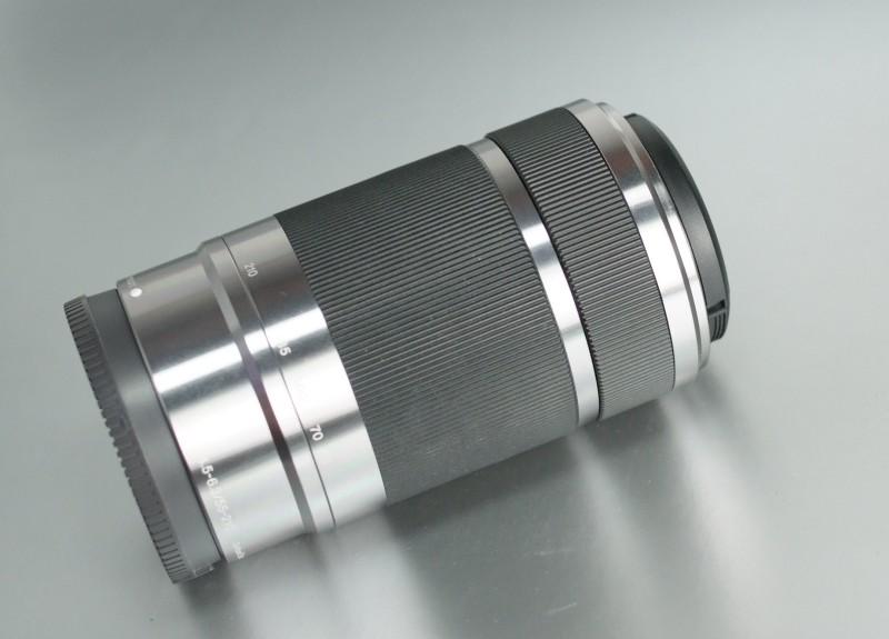 SONY 55-210 mm f/4,5-6,3 stříbrný SEL pro bajonet