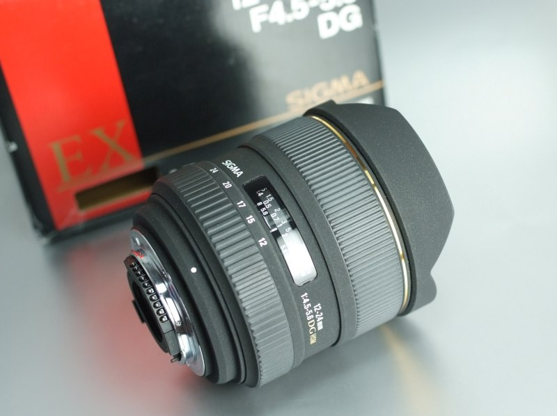 Sigma 12-24mm f/4,5-5,6 DG HSM pro Nikon