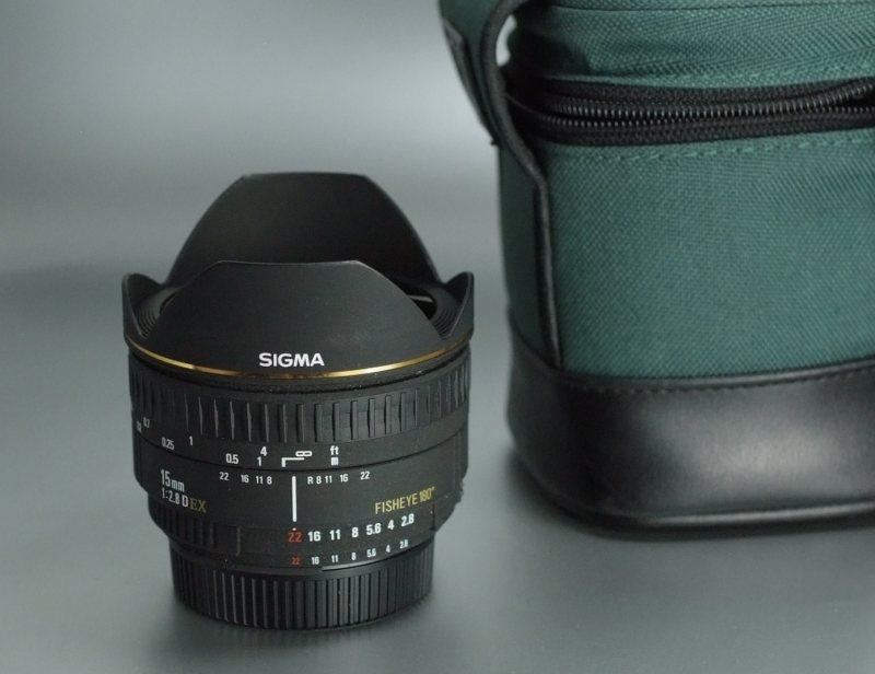 Sigma 15mm f/2,8 EX DG rybí oko pro Nikon