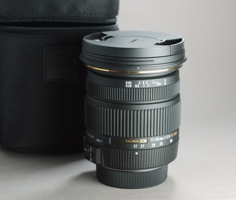 Sigma 17-50 F/2,8 EX DC OS HSM pro Nikon TOP STAV