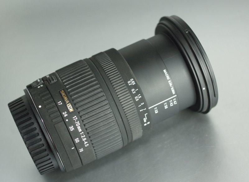 Sigma 17-70/2,8-4,5 DC MACRO pro CANON